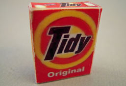 "1"" Scale Miniature Box Of Wash Powder"