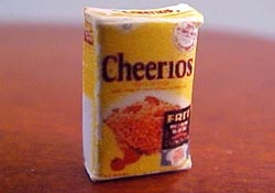 "1/2"" Scale Miniature Box Of Cereal"