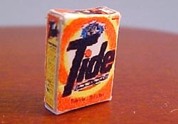 "1/2"" Scale Miniature Box Of Tide"