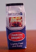 1/2&quot; Scale Miniature Bag Of Charcoal