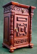 "Bespaq 1"" Scale ""Wexburgh"" Royal Night Stand"