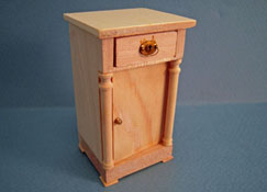 "1"" Scale Bespaq Unfinished Empire Night Stand"