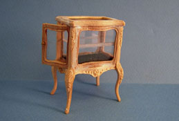 "1"" Scale Bespaq Unfinished Curio Table"