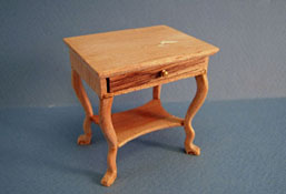 "1"" Scale Bespaq Unfinished Portman End Table"