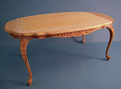 "Bespaq 1"" Scale Unfinished Louis XV Dining Table"
