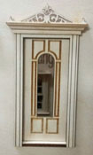 "Laser Dollhouse Designs 1/2"" Scale Miniature Classic Arched Lite Six Panel Door"