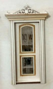 "Laser Dollhouse Designs 1/2"" Scale Miniature Classic Arched Two Panel Door"