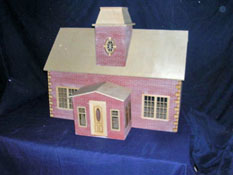"Alessio Miniatures 1"" Scale Assembled Country House"