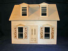 Alessio Miniatures 1&quot; Scale Assembled Brielle&#039;s Cottage