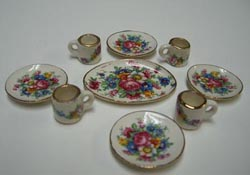 "1"" Scale Springtime Dish Set"