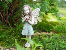 "Fairy Garden ""Clementine"" Resin Fairy Doll"