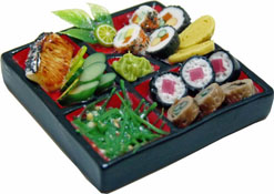 Bright deLights Japanese Sushi Platter 1:12