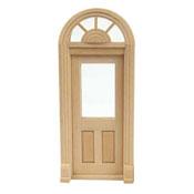"""Houseworks 1/2"""" Scale Exterior Palladian Door"""