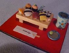 """1"""" Scale Sushi Set"""
