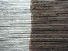 "1/2"" Scale Miniature Log Cabin Siding"