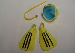 "By Barb 1"" Scale Child's Scuba Set"