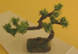 "Bright deLights 1"" Scale Bonsai Tree"