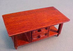 "Lee's Line 1/2"" Scale Miniature Spice Coffee Table"