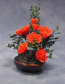 "Bright deLights 1"" Scale Carnation Planter"