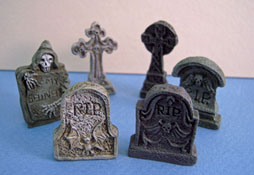 "1"" Scale Six Piece Tombstone Set"
