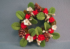"1"" Scale Bright deLights Christmas Wreath"