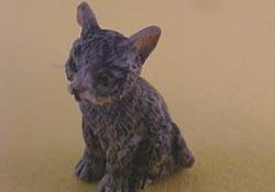 """1"""" Scale Gray Kitten"""