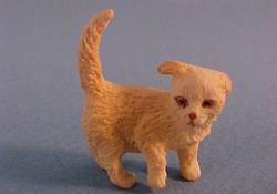 """1"""" Scale Golden Puppy"""