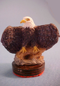 "Falcon 1"" Scale Eagle Statue"