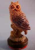"""Falcon 1"""" Scale Owl Statue"""