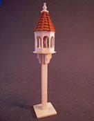 "1"" Scale Freestanding Wooden Bird Feeder"