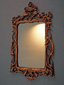 "Falcon 1"" Scale Victorian Mirror"
