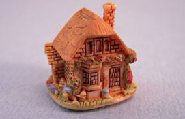 "1/2"" Scale Cottage Dollhouse For Your Dollhouse"