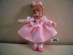 "Ethel Hicks Angel Children 1"" Scale Baby Teagan Limited Edition Doll"