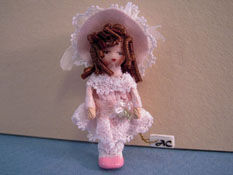 "Angel Children 1/2"" Scale Wee Kerri Limited Edition Doll"