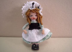 "Angel Children 1/2"" Scale Wee Ireland Miniature Doll"