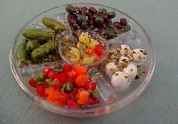 "1"" Scale Antipasta Tray"