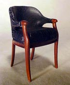 "Bespaq 1"" Scale Art Deco Vanity Chair"