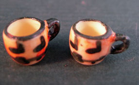 "1"" Scale Bright deLights Pair Of Halloween Mugs"