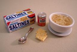 """1"""" Scale Chicken Noodle Soup Set"""