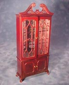 "Bespaq 1"" Scale Fancy Mullioned China Cabinet"