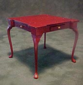 Bespaq 1 Scale Mahogany Game Table