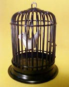 "1"" Scale Bird Cage"