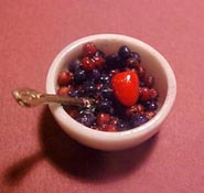 "1"" Scale Bowl Of Berries"
