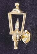 "1"" Scale Brass Carriage Lamp"