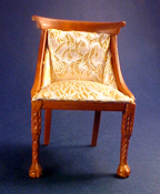 Hannson 1&quot; Scale Walnut Side Chair
