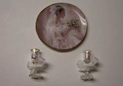 "By Barb 1"" Scale Decorative Bridal Set"
