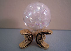 "Crickets And Caterpillars 1"" Scale Crystal Ball"