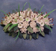 """Bright deLights 1"""" Scale Lily Center Piece"""