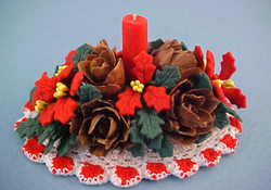 "Bright deLights 1"" Scale Christmas Center Piece"