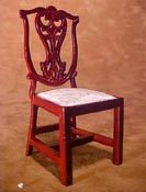 "Townsquare 1"" Scale Chippendale Side Chair"